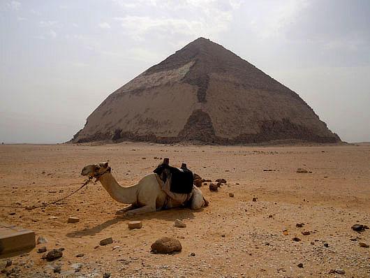 Bent Pyramid - Dashur, Giza
