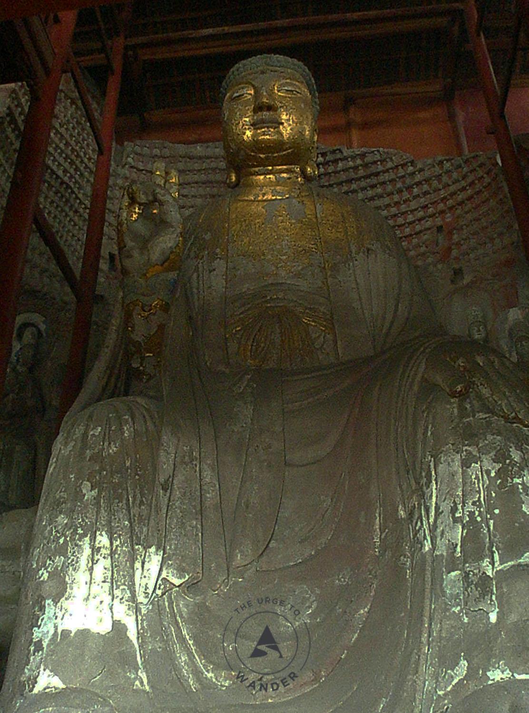 Giant Buddha in Laitan