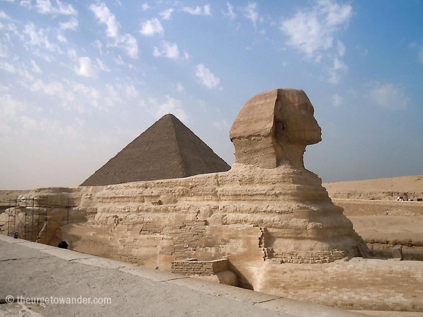 Sphinx - Giza, Cairo