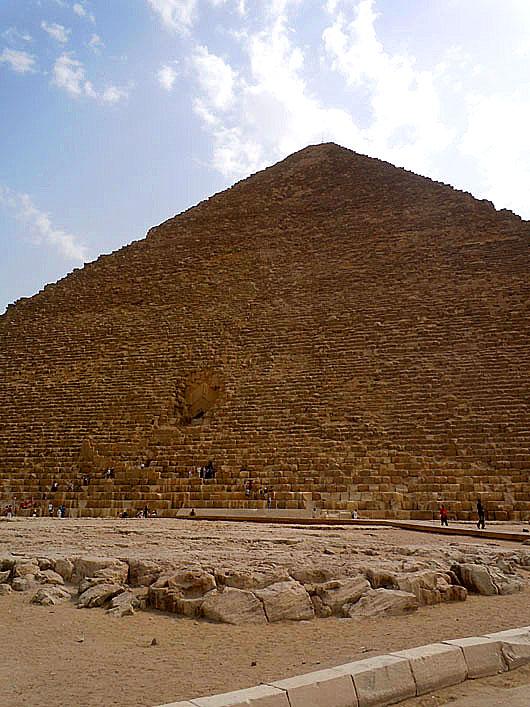 Pyramid of Khafre - Giza, Egypt