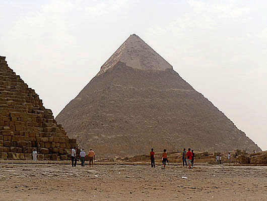 Pyramid of Khafre - Giza, Egypt