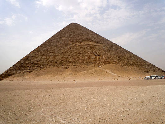 Snofru's Red Pyramid - Dashur, Egypt