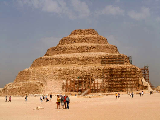 The Step Pyramid of Djoser - Saqqara