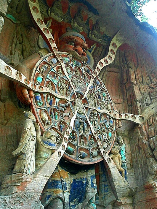 Wheel of Life - Dazu, China