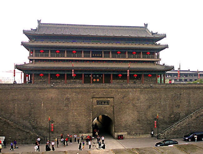 Wall and gate - Xian, China