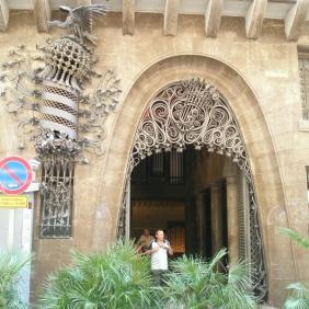Palau Guell - Barcelona, Spain