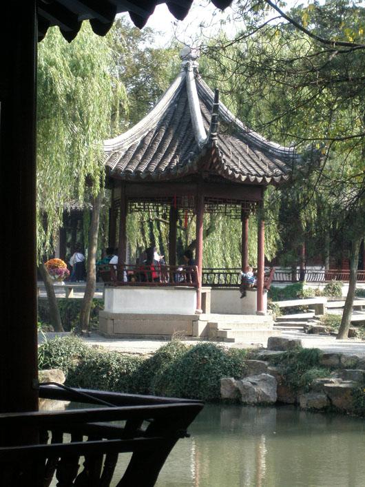 Pavilion, Humble Administrators Garden - Suzhou