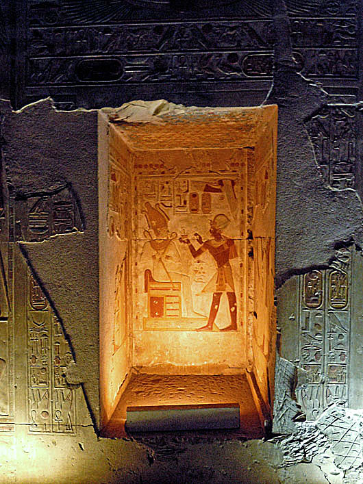 Egyptian temple relief, Abydos