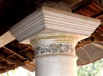 Detail of column capital