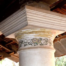 Detail of column capital