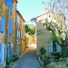 Street corner, Gordes - Provence, France