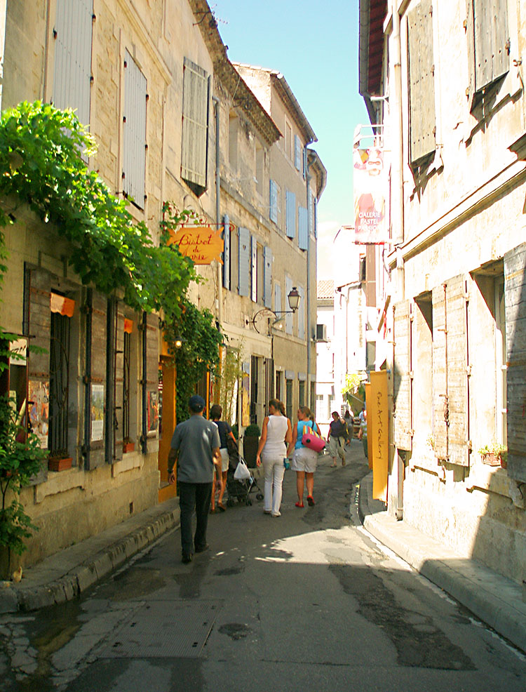 Street in Avignon - Provence, France