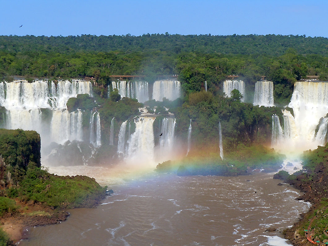 Panoramic View - Iguacu National Park, Brazil