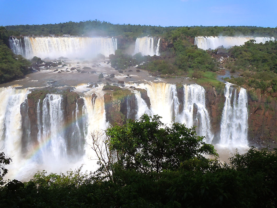 Double cataracts - Iguacu National Park, Brazil