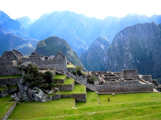 The Old Peak Of The Incas
