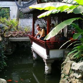 Toasting Pavilion, Yu Yuan Garden - Shanghai, China