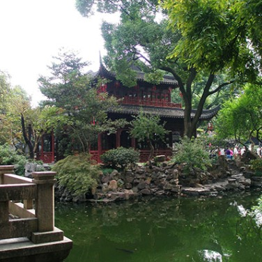 Huijing Tower, Yu Yuan Garden - Shanghai, China