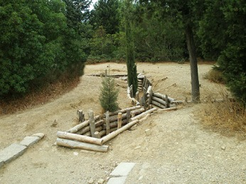 The trenches of Gallipoli