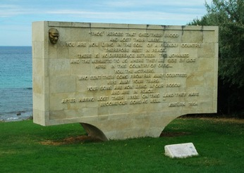 Mustapha Kemal Ataturk's personal message to grieving families of Australian and New Zealand soldiers who lay buried in Anzac Cove