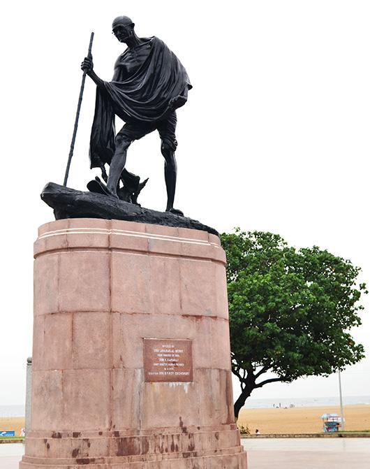 Gandhi Statue - Chennai