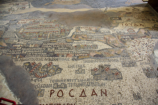 Mosaic Map - Madaba, Jordan