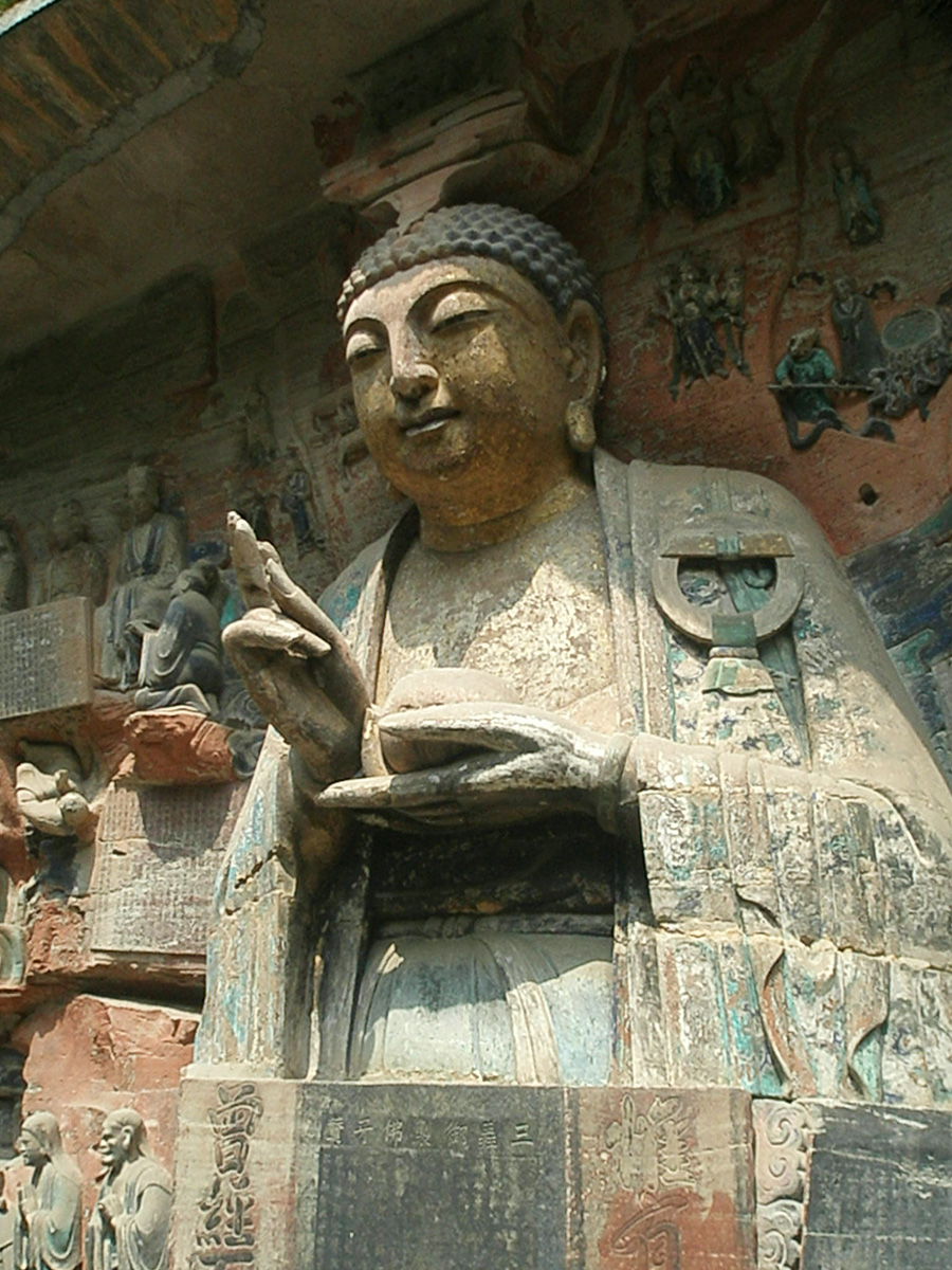 Buddha - Dazu, China