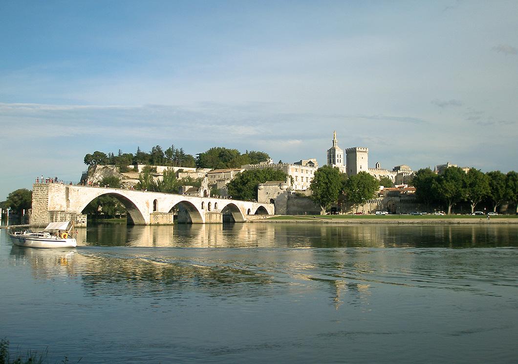 Avignon Bridge, Avignon.