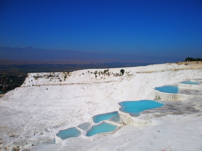 Thermal springs - Pammukale, Turkey
