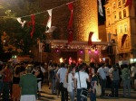 Concert under the Galata Tower