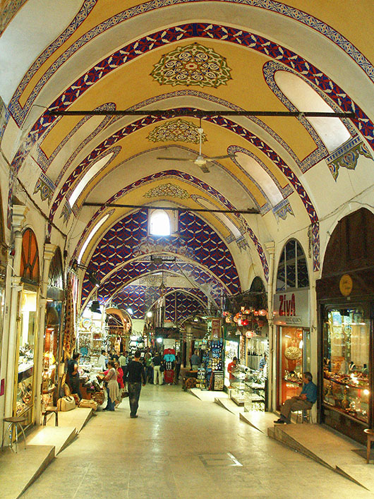 Grand Bazaar or Kapali Carsi