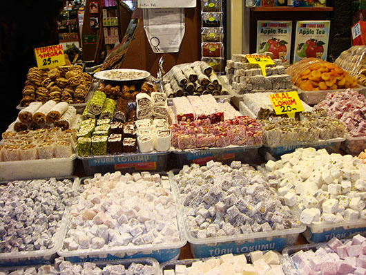 Turkish delight in the Spice Bazaar