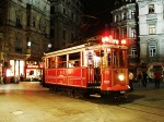 Tram on Istiklal