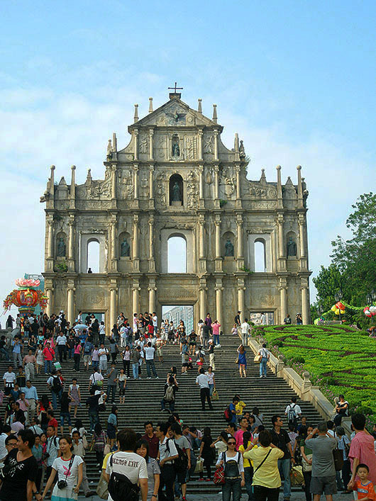 The Ruins of Saint Paul, Macau