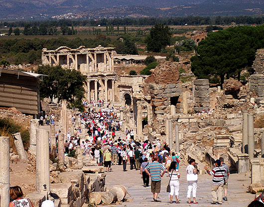 Celsus Library - Ephesus, Turkey