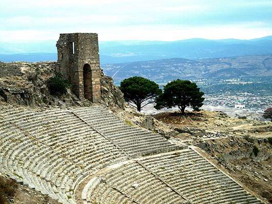 The Theater of Pergamom