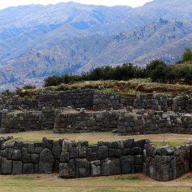 The imposing and mysterious fortress of Saqsaywaman was also a religious center.