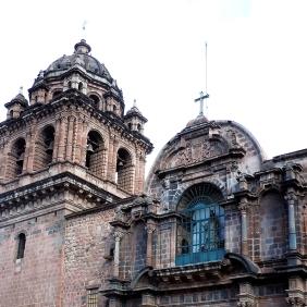 Details of Facade, Iglesia de la Merced - Qosqo, Peru