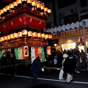 The Daihachitai Yatai and its Yatai Gumi
