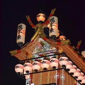 Close up of Kyuhosha Yatai