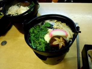 Celery and mushroom soup