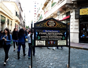 Feria Artesanal San telmo