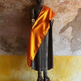 Wooden Buddha, Wat Sisaket
