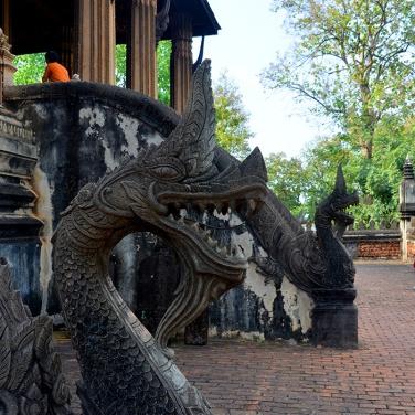 Nagas, Haw Phra Kaew