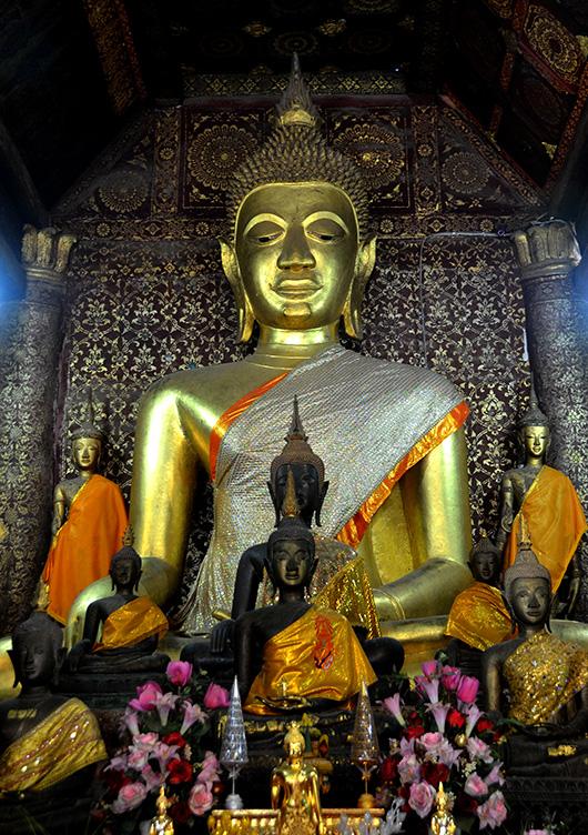Buddha, Wat Xieng Thong