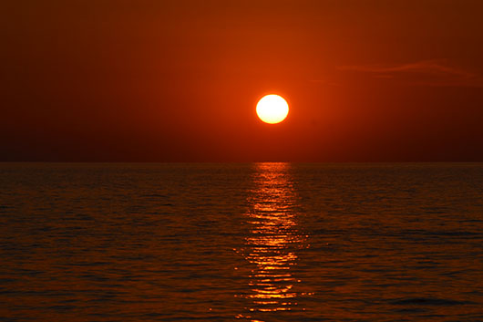 Sunset, Tonle Sap