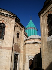 October - The shrine of the Mevlana, Konya (Guest post for Spiritual World Traveler)