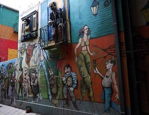August - The Barrio of Kitsch, La Boca, Buenos Aires