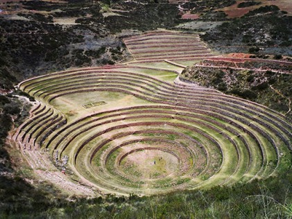 Peru - The terraces of Moray