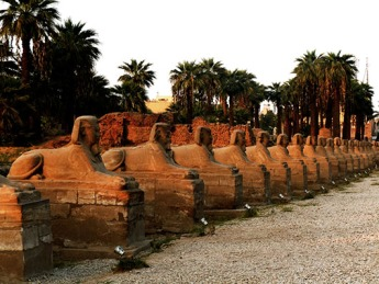 Avenue of the Sphinx - Karnak Temple