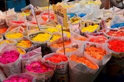 Bangkok, Thailand - Giant flower market